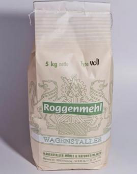 Roggen-Vollkornmehl 5 kg