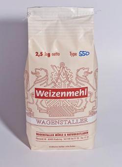 Weizenmehl Type 550 - 2,5 kg