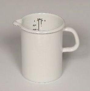 Küchenmaß weiß 16 cm / 3 Liter