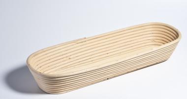 Gärkörbchen aus Peddigrohr – lang lang / 1000 g