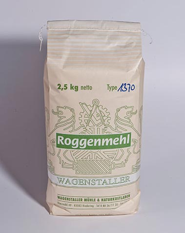 Roggenmehl Type 1370 2,5 kg