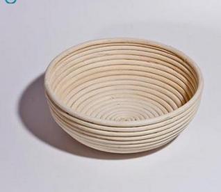 Gärkörbchen aus Peddigrohr - rund rund / 1000 g