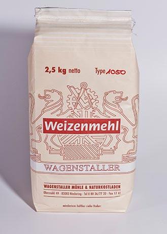 Weizenmehl Type 1050 - 2,5 kg